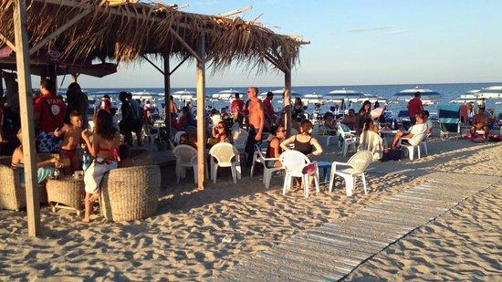 Badolato, Italia: spiaggia Pansini Hotel