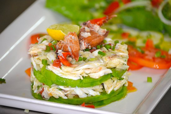 Bay View Lodge: Crab salad