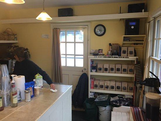 Wilmington, Vermont: A quaint little coffee shop