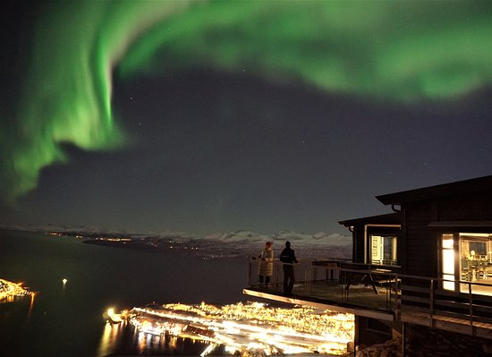 Narvik, Norwegia: Our guests are enjoying the Lights dancing in the sky