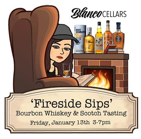 Meeker, Kolorado: Whiskey Tasting Fireside at Blanco