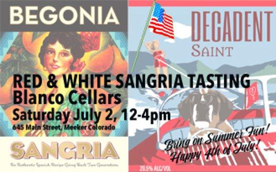 Meeker, Kolorado: Fun Summer Sangria tasting