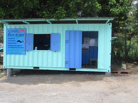 Bouillante, Guadeloupe: LOCAL DE PLONGEE