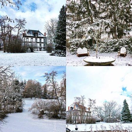Lezoux, France : Parc en hiver