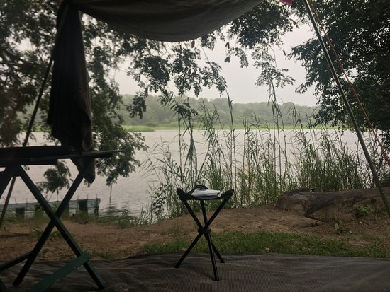 Caprivi Region, Namibia: View from my tent
