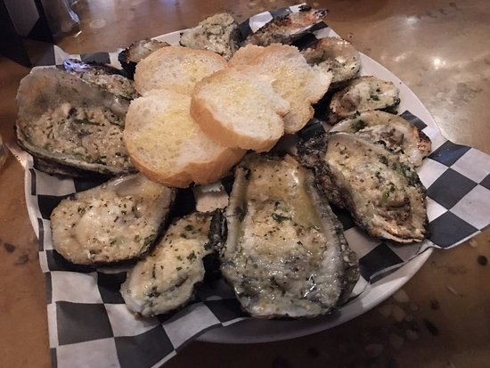 Bay Saint Louis, MS: Charbroiled oysters