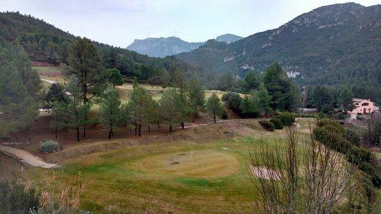 Vandellos, Spania: Вид из Номера