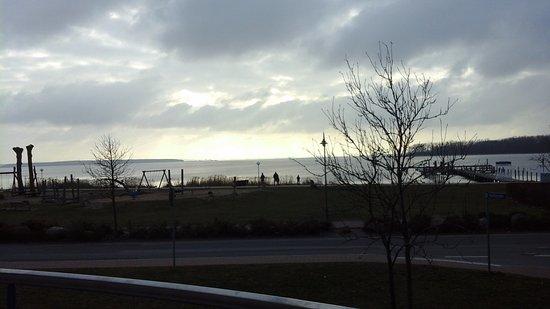 Rerik, Tyskland: Blick vom Balkon