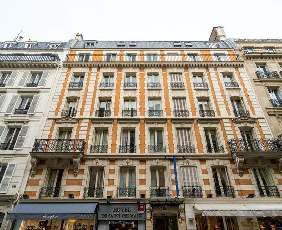 Hotel de saint germain paris voir les tarifs 30 avis for Prix des hotels en france