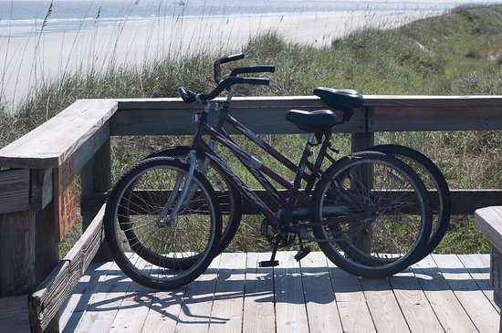 Blue Heron Inn : Bicycle on Sapelo Island