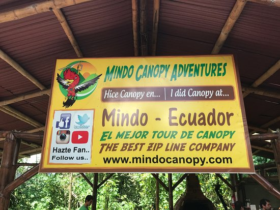 Mindo Canopy Adventure
