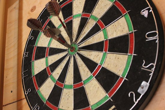Kenwood, CA: Enjoy a game of darts in our upstairs loft or rent the loft for your private party.