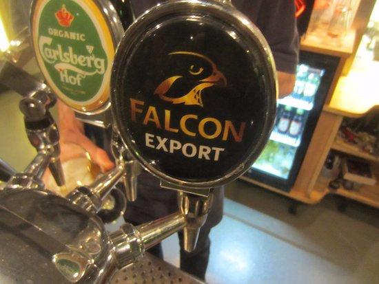 Lund, Sweden: Falcon on draft