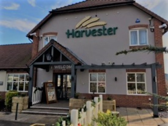 Harvester: Front Entrance and Patio