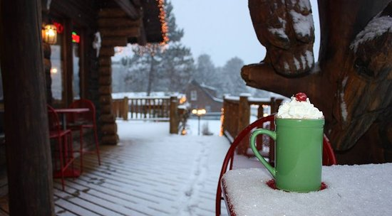 West Forks, เมน: Warm winter drinks !