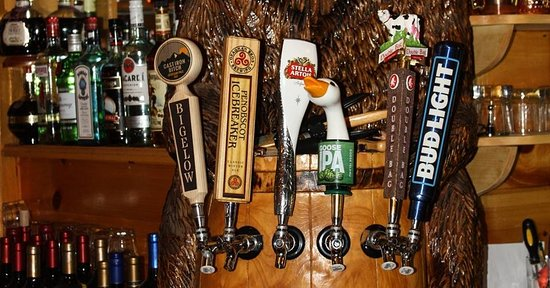 West Forks, ME: Draft beer selection !