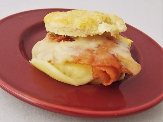 Gordonsville, VA: Our homemade biscuit sandwiches are available all day with your choice of toppings.