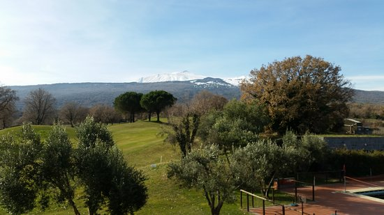 Castiglione di Sicilia, Italie : Golf resort