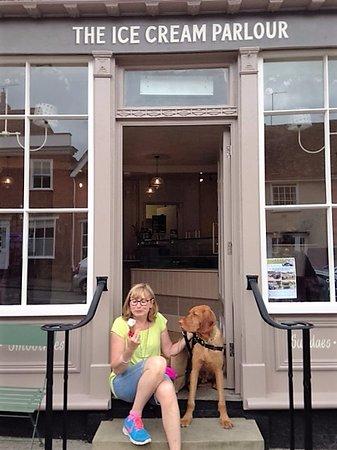 Lavenham, UK: We also have handmade doggie treats!