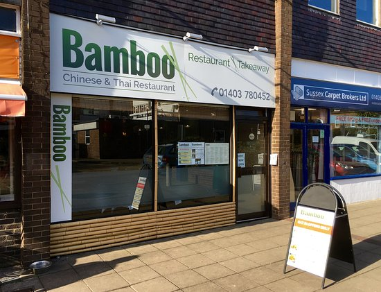 Billingshurst, UK: Exterior of Bamboo in Janglers Mead