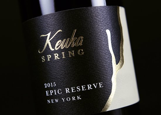 Penn Yan, État de New York : 2015 Keuka Spring Vineyards Epic Reserve
