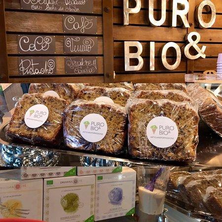Heladería Puro & Bio Sevilla: Repostería y bizcochos artesanos. Con ingredientes biológicos