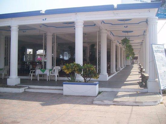 Cuyutlan, Mexico: Restaurante del hotel.