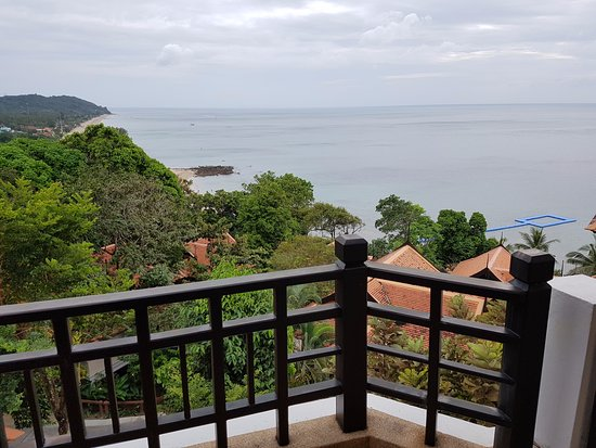 Rawi Warin Resort & Spa: View from room no 857