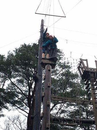 Killary Adventure Centre: The trapeze!