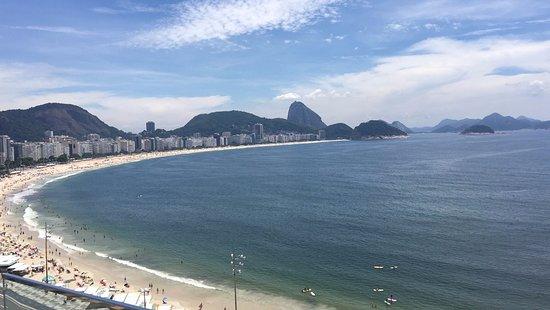 Orla Copacabana Hotel: Vista da Praia Terraco