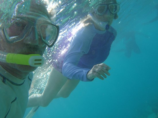 Sailing One World: Great snorkelin