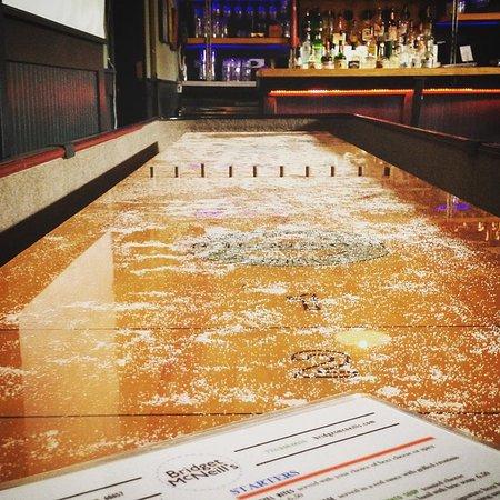 Bridget McNeillu0027s Bar U0026 Kitchen: Shuffleboard Table