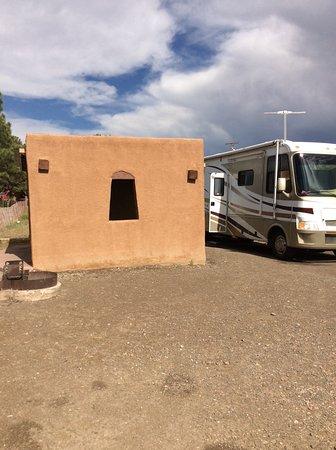 Las Vegas, Nuevo Mexico: campsite