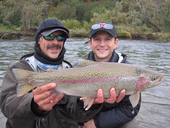 Iliamna, AK: Rainbow Trout!