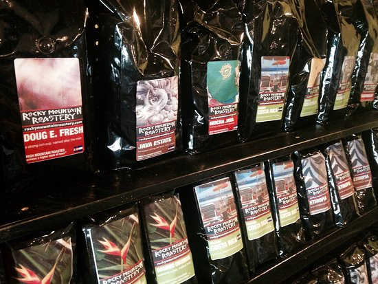 Fraser, CO: Fresh roasted, high altitude coffee