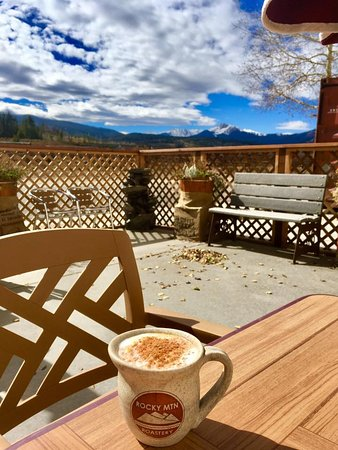 Fraser, CO: Scenic outdoor seating area