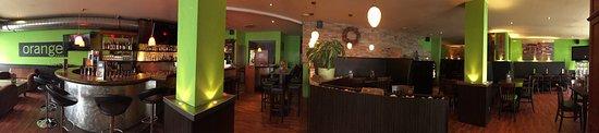 Sonthofen, Almanya: Orange Rest-O-Bar