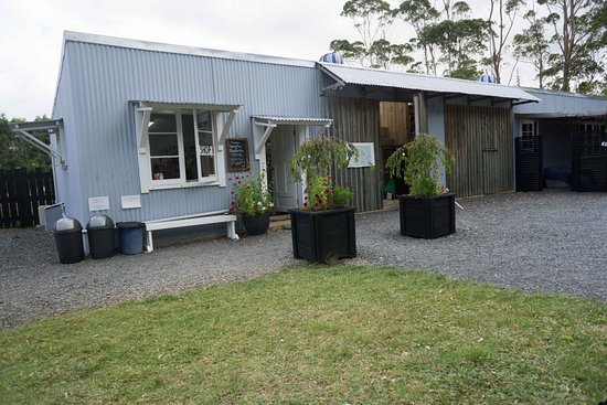 Kerikeri, New Zealand: Cute little ice cream shop off their factory