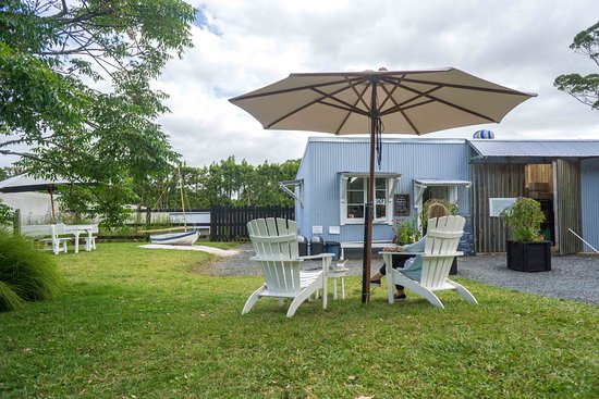 Kerikeri, New Zealand: great little garden area for resting and sampling awesome ice cream