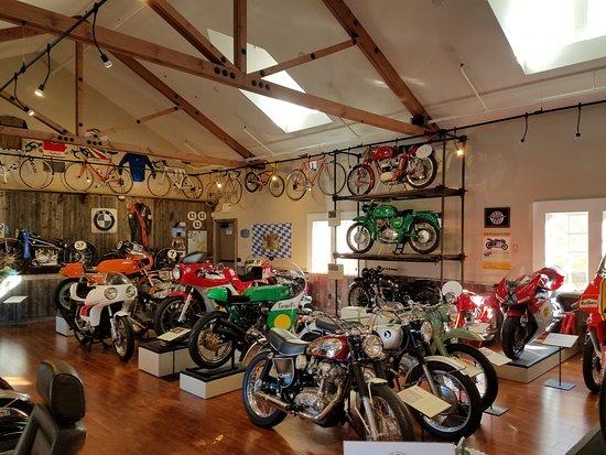 Carmel Valley, CA: Many great Italian bikes.