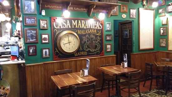 Great pub – obrázek zařízení maravillas malasana, Madrid - Tripadvisor