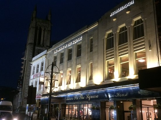 Window View - Picture of Moon in the Square, Bournemouth - Tripadvisor