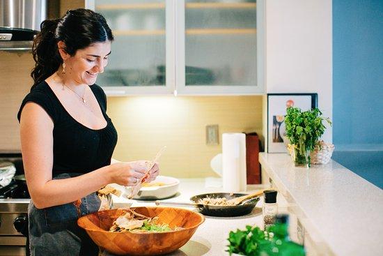 Lauren Cooking In The Kitchen Picture Of Lauren Of Lomade