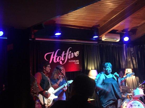 Hot Five Jazz & Blues Club: .hot five