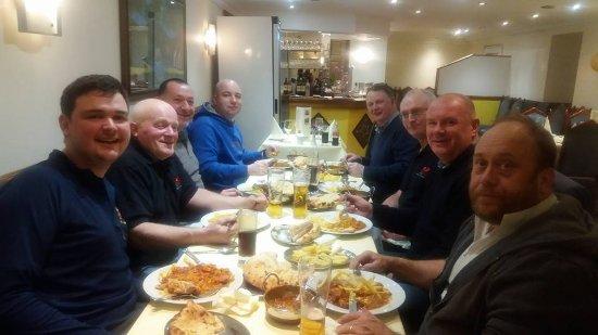 Fishguard, UK: all mates