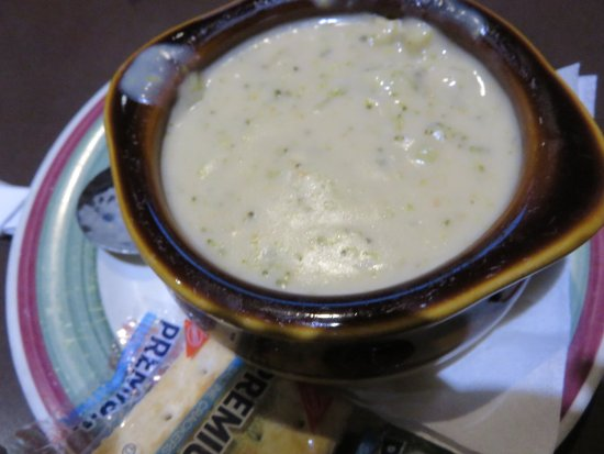 Houligan's: Cream of broccoli soup