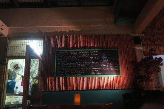 The loft : menu