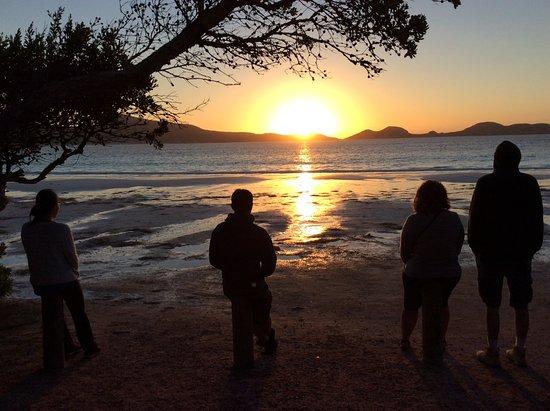 Port Lincoln, Avustralya: Lucky bay sunrise