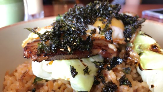 Bayswater, Australia: Delicious kimchi fried rice and matcha latte