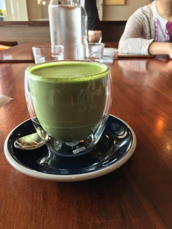 Bayswater, Australien: Delicious kimchi fried rice and matcha latte